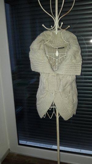 Drykorn Smanicato lavorato a maglia bianco sporco