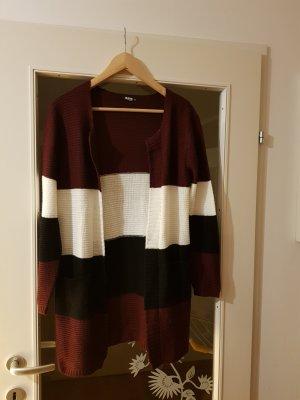 Colloseum Smanicato lavorato a maglia multicolore