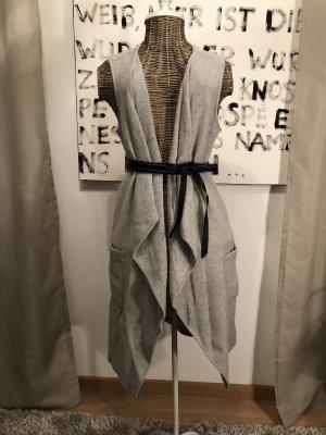 Opus Gilet tricoté gris
