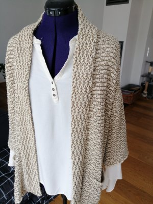 Mexx Knitted Vest light brown-cream