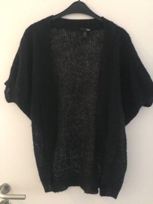 H&M Cardigan a maniche corte nero