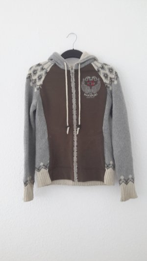 Napapijri Norwegian Cardigan grey-brown