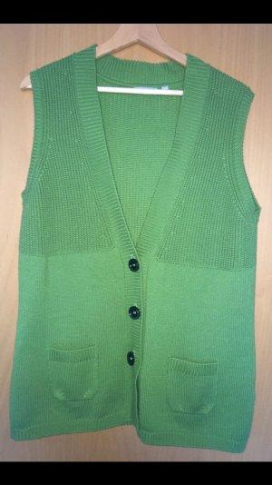 Rabe Chaleco de punto verde claro-verde
