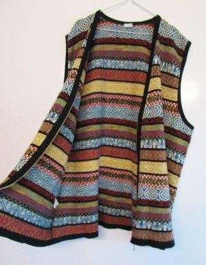 Ulla Popken Knitted Cardigan multicolored mixture fibre