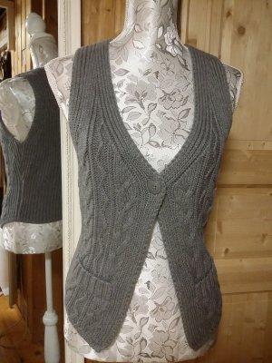 s.Oliver Smanicato lavorato a maglia grigio Tessuto misto