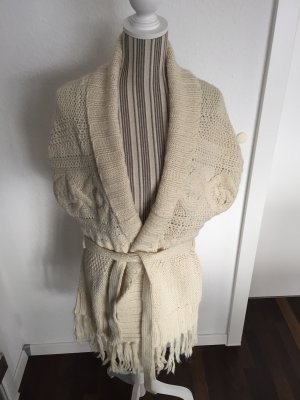 H&M L.O.G.G. Long Knitted Vest multicolored wool