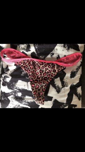 Pink Victoria's Secret Pantalone pigiama nero-rosa