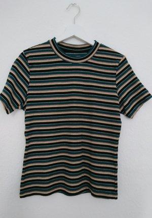 STRIPED Black T-Shirt multicolor perfekt für den Frühling