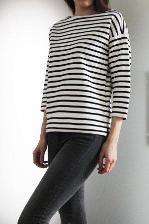 Lauren by Ralph Lauren Gestreept shirt zwart-wit Katoen