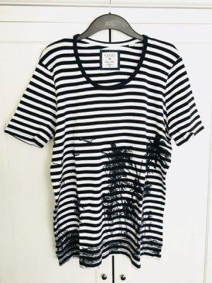 Stripes-Shirt Gr. 46/48