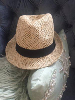 Chapeau de soleil doré-beige