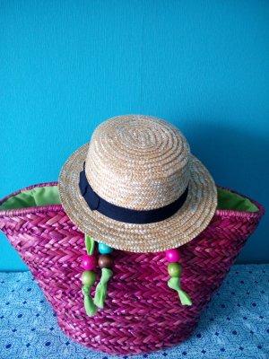 Cappello di paglia oro-sabbia