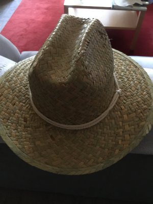Chapeau panama brun sable