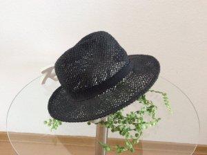 Cappello di paglia antracite