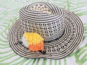 Mango Cappello di paglia multicolore