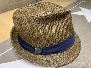 Guess Cappello di paglia marrone-blu scuro