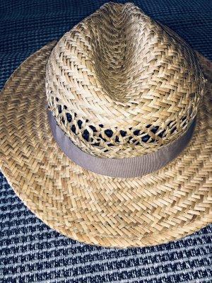 Hallhuber Cappello di paglia color cammello-beige