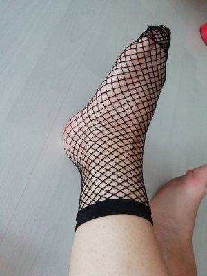 Strümpfe Socken Söckchen Netz Fishnet