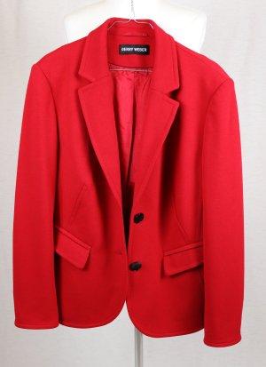 Gerry Weber Blazer largo rojo tejido mezclado