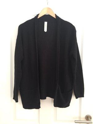 Struktur-Cardigan/Blazer in schwarz von Pull&Bear, Gr. S