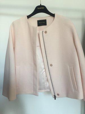 Strukturierte, leicht ausgestellte Jacke in Rosé