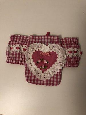 Bolso folclórico rosa-rosa