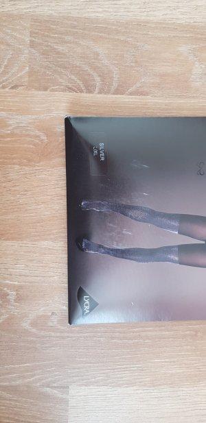 Strumpfhose Hunkemöller mit silber overknee