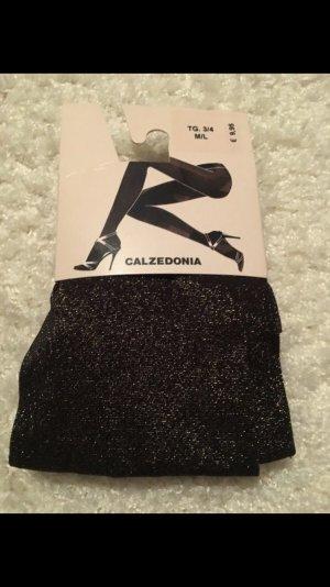 Calzedonia Pantalone pigiama nero-oro