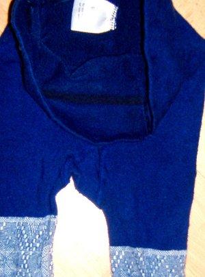 Strumpfhose Winter-Style Blau