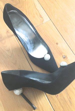 Stuart weitzman High Heels black-white suede