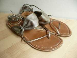 Stuart weitzman Roman Sandals sand brown leather