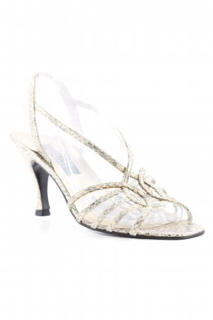 Stuart weitzman High Heel Sandal gold-colored elegant