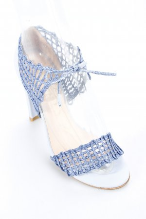 Stuart weitzman High Heel Sandaletten hellblau-blau Party-Look