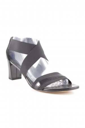 Stuart weitzman High Heel Sandal black leather-look