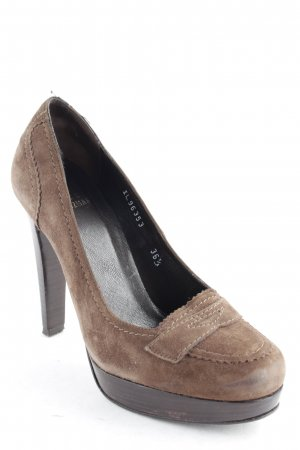 Stuart weitzman High Heels dark brown elegant