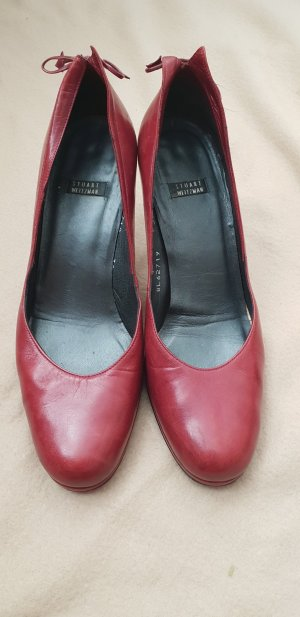 Stuart weitzman High Heels carmine leather