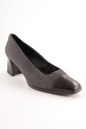 Stuart weitzman Mary Jane Pumps schwarz-dunkelgrau Business-Look