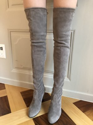 Stuart weitzman Overknees light grey-grey