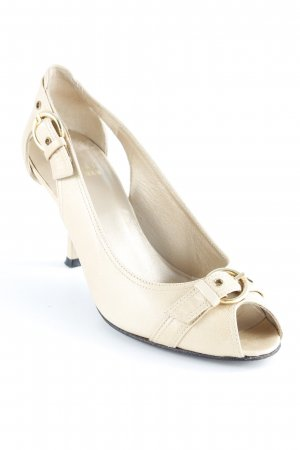 Stuart weitzman Peep Toe Pumps bronze-colored-gold-colored elegant