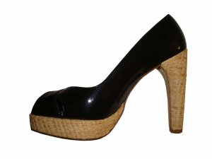 Stuart weitzman Platform Pumps black-beige leather