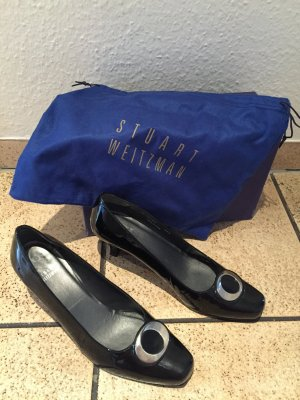 Stuart weitzman Pumps black-silver-colored