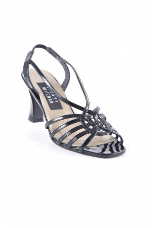 Stuart weitzman Strapped Sandals black elegant