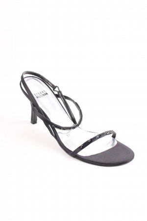 Stuart weitzman Strapped High-Heeled Sandals black elegant