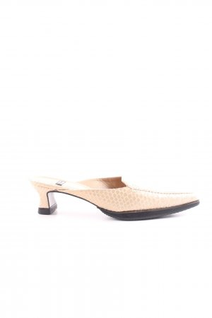Stuart weitzman Sabots nude animal pattern business style