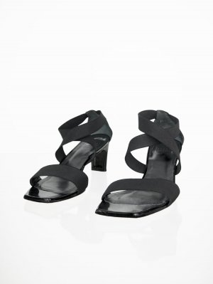 Stuart weitzman High Heel Sandal black leather