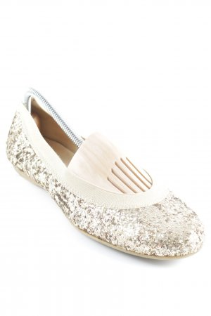 Stuart weitzman Slip-on Shoes gold-colored-sand brown extravagant style