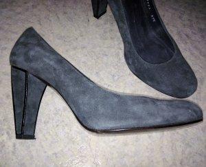 Stuart weitzman Loafers grijs-zwart Suede
