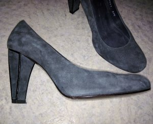 Stuart weitzman Zapatos Informales gris-negro Gamuza