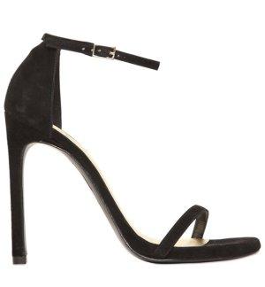 Stuart weitzman High-Heeled Sandals black suede