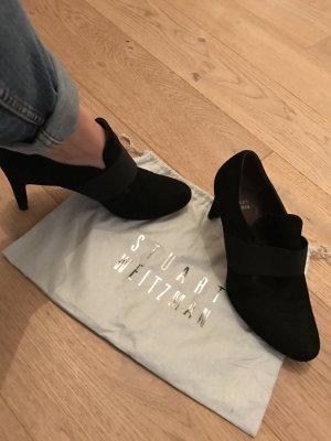 Stuart Weitzmann Schuhe, schwarz, Wildleder, Größe 38